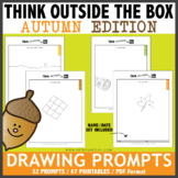 Think OUTSIDE the Box Drawing Prompts - AUTUMN