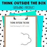 Think Outside the Box Drawings - growing bundle