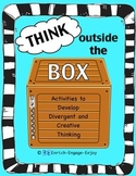 Think Outside the Box -- Game, Center, Brain Break, Bulletin Board (GATE/STEM)