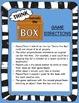 Think Outside the Box -- Game, Center, Brain Break, Bulletin Board (GATE/STEM)