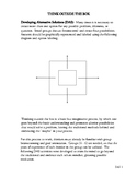 Think Outside the Box Small Group(s) Activities DAS 1
