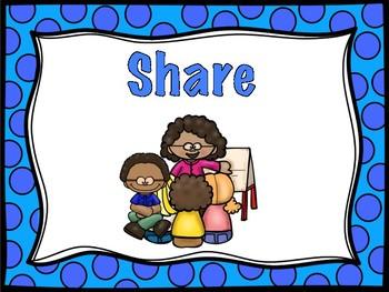 Think, Pair, Share Anchor Charts