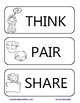 Think-Pair-Share Poster and Worksheet
