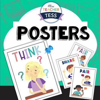 Think. Pair. Share. Posters
