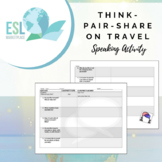 Think-Pair-Share Speaking Activity - Travel
