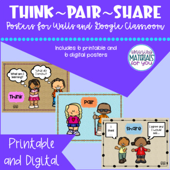 Think-Pair-Share Steps