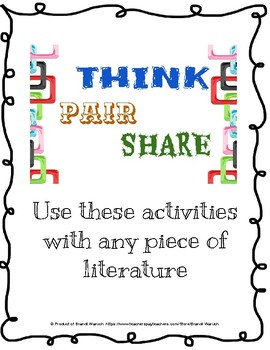 Think-Pair-Share and K-W-L Pre-reading Activities