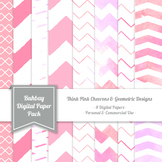 Think Pink Digital Paper Pack - 12x12 - High Resolution .J