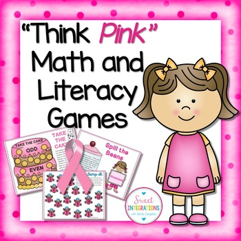 MATH AND LITERACY GAMES FOR CENTERS