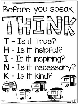 Think Poster Campers