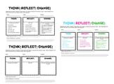 Think! Reflect! Change! Behaviour reflection resource