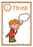 Think Say Write poster set