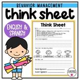 Think Sheet - Classroom Management