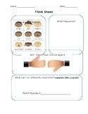 Think Sheet/Reflection Sheet
