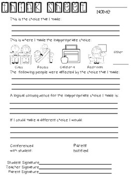Think Sheets