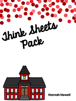 Think Sheets Pack