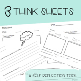 Think Sheets-Pack of 3