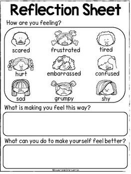 Think Sheets and Reflection Sheets
