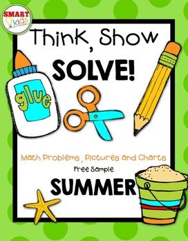 Think, Show, SOLVE! Summer Freebie
