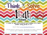 Think & Solve Math  {12 weeks of daily problem solving}