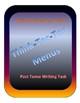 Think-Tac-Toe /Menus- Past Tenses