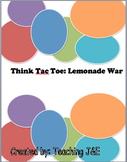 Think Tac Toe: The Lemonade War