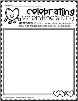 Valentine's Day Choice Board for Early Finishers