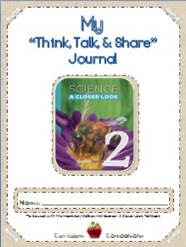 "Science - Grade 2 ""Think, Talk & Share"" Journal"