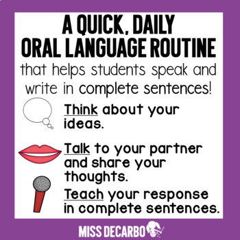 Think Talk Teach Daily Discussion and Oral Language for Little Learners
