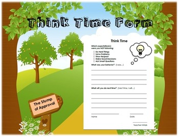 Think Time Form