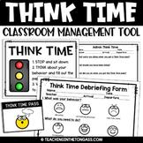 Think Time | Think Sheet | Behavior Management