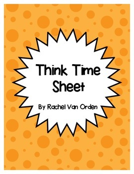 Think Time Sheet