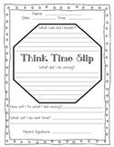 Think Time Slip