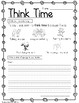 Think Time behavior modification packet