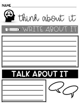 Think - Write - Pair - Share
