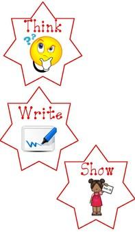 Think, Write, Show