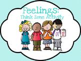Think Zone Feelings Activity