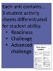 Literacy Center Activities: Think about... series