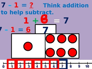 Think addition to subtract