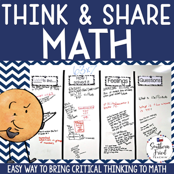 Respond to Math with Critical Thinking Stems