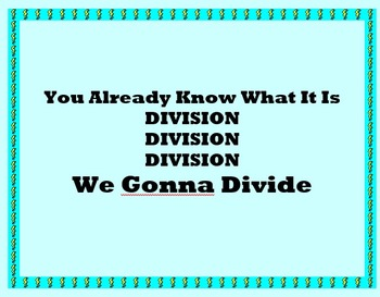 Think and Solve Solve (The Division Whip and Nae Nae)