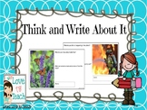 Think and Write About It Digital Slides