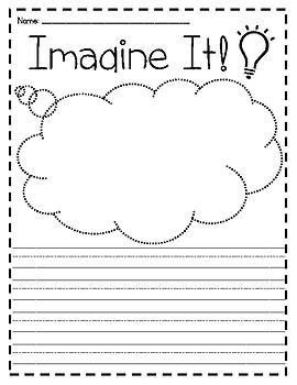 Think it/Imagine it Worksheets