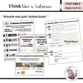 Think like a Historian | Google Classroom and Print