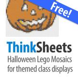 ThinkSheets: Halloween Lego Mosaic