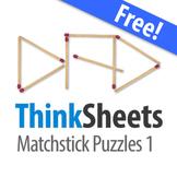 ThinkSheets: Matchstick Puzzles 1