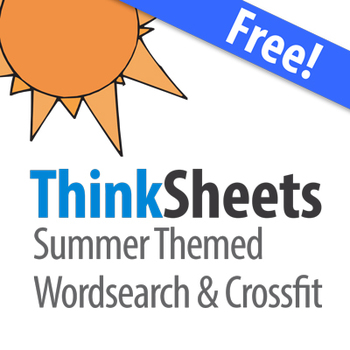 ThinkSheets: Summer Puzzle Pack