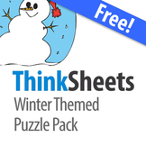 ThinkSheets: Winter Puzzle Pack