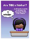 Thinker Puzzles - IB PYP Learner Profile Trait