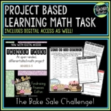 Math Problem Solving Task: The Bake Sale Project | Distance Learning PBL